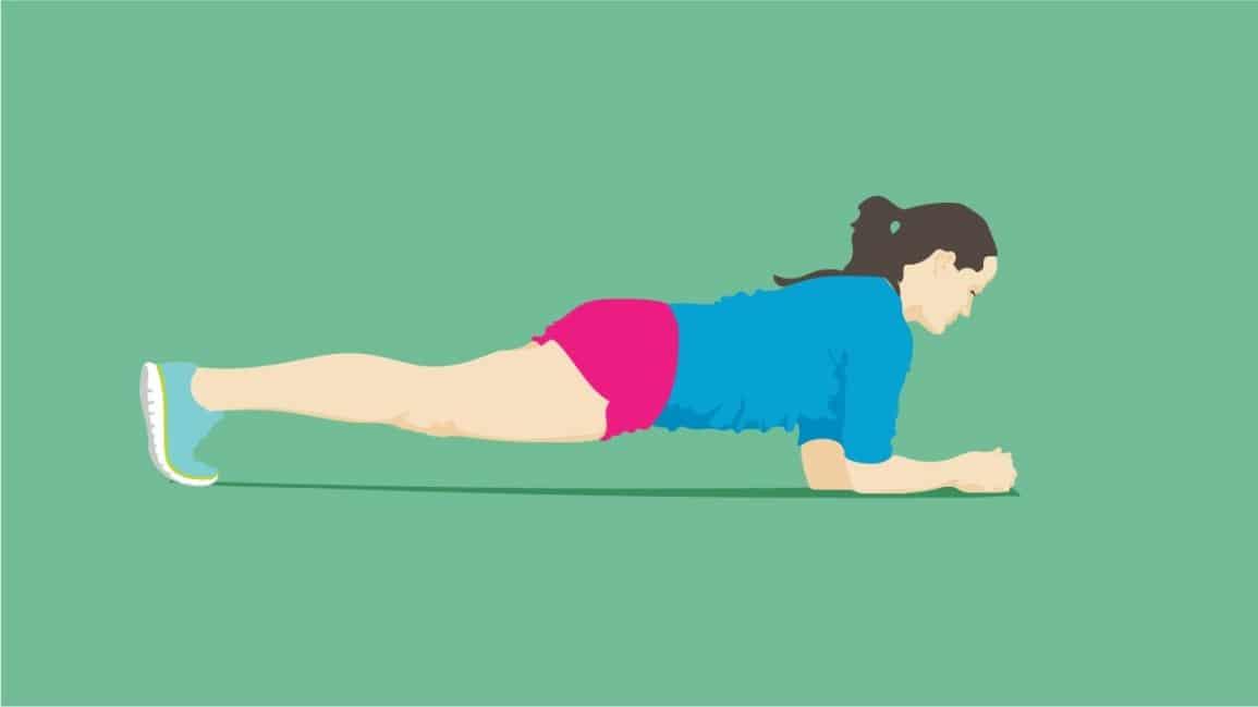 5个健身动作,提升你的肌肉耐力