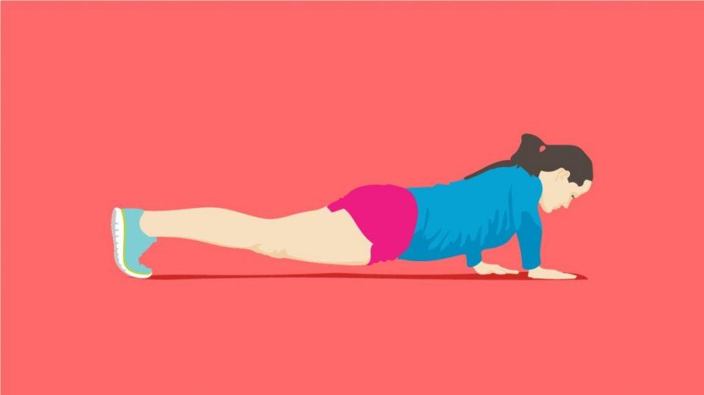 """个健身动作,提升你的肌肉耐力"""""""