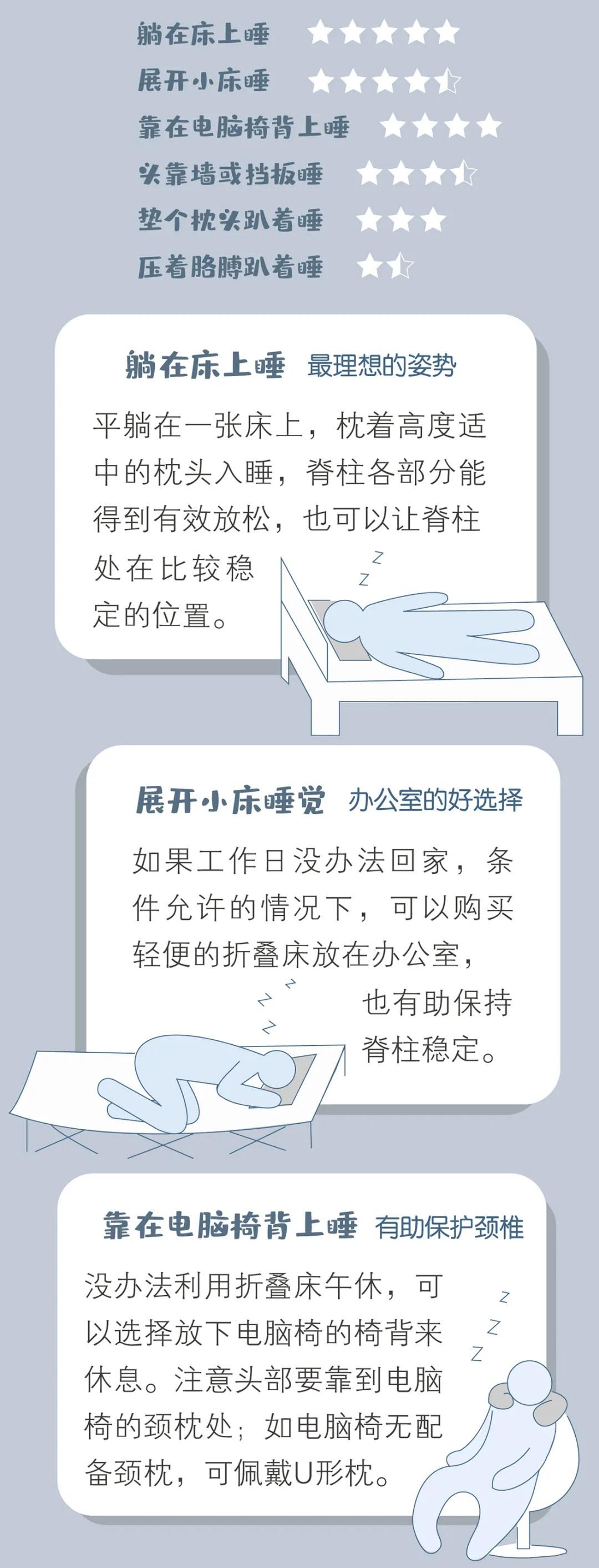 哪些午睡行为会伤害身体?